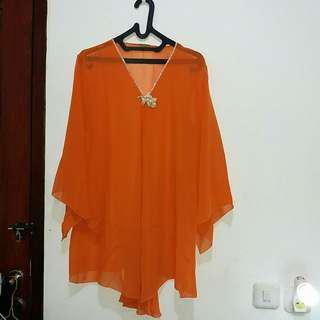 Kaftan orange