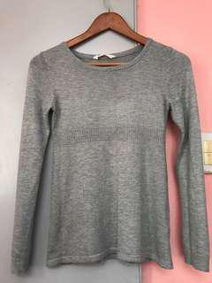 H&M Basic Gray Sweater