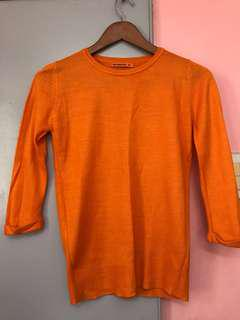 Terranova Orange Sweater