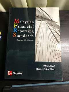 Malaysian Financial Reporting Standards