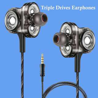 Triple Drives In-ear Headphones 三動圈耳機