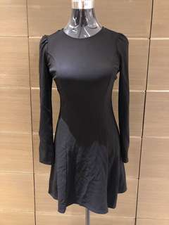Zara Trafaluc Black Dress