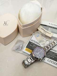 Citizen XC Chronograph duratect 光動能 女裝手錶
