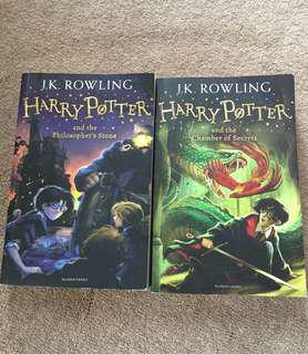 First two books of harry potter