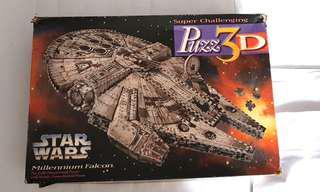STAR WARS MILLENNIUM FALCON 3D PUZZLE