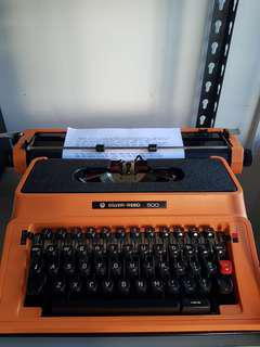 sliver reed typewriter