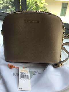 MK Cross lady bag. ( Gold colour)
