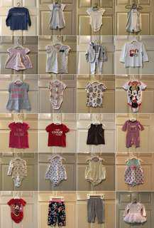 5 sgd each - dresses, tops, rompers, bottoms