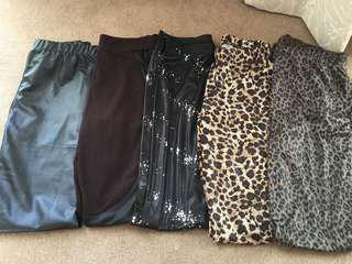 Leggings value pack (5pcs)