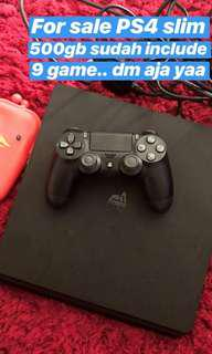 PS 4 Slim 500GB