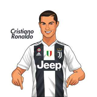 🚚 Juventus Ronaldo in Home Kit