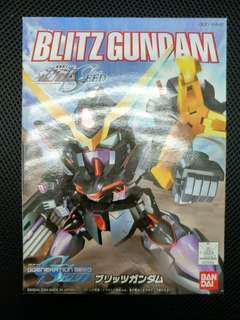 二手 中古 已砌 SD BB Blitz Gundam 閃電高達  gundam seed
