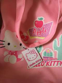 Authentic Hello Kitty Canvas Bag Original Mall Price is 400.00
