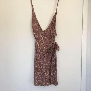 Polkadot Blush Dress