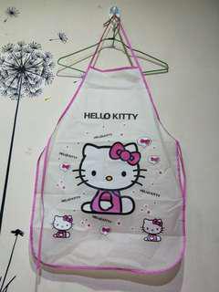 🚚 全新kitty圍兜兜 可換物