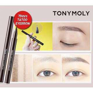 Tony Moly 7 days Tattoo Eyebrow - Authentic