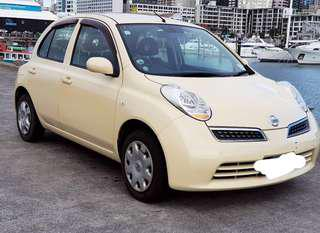 Nissan March -smart key- 2008