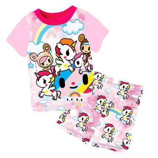 🚚 Tokidoki T shirt set casual wearing pyjamas set