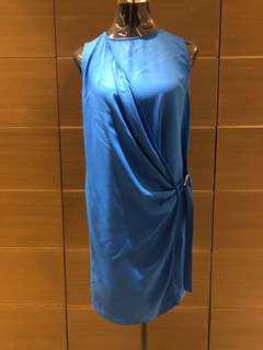 Zara Basic Blue Dress