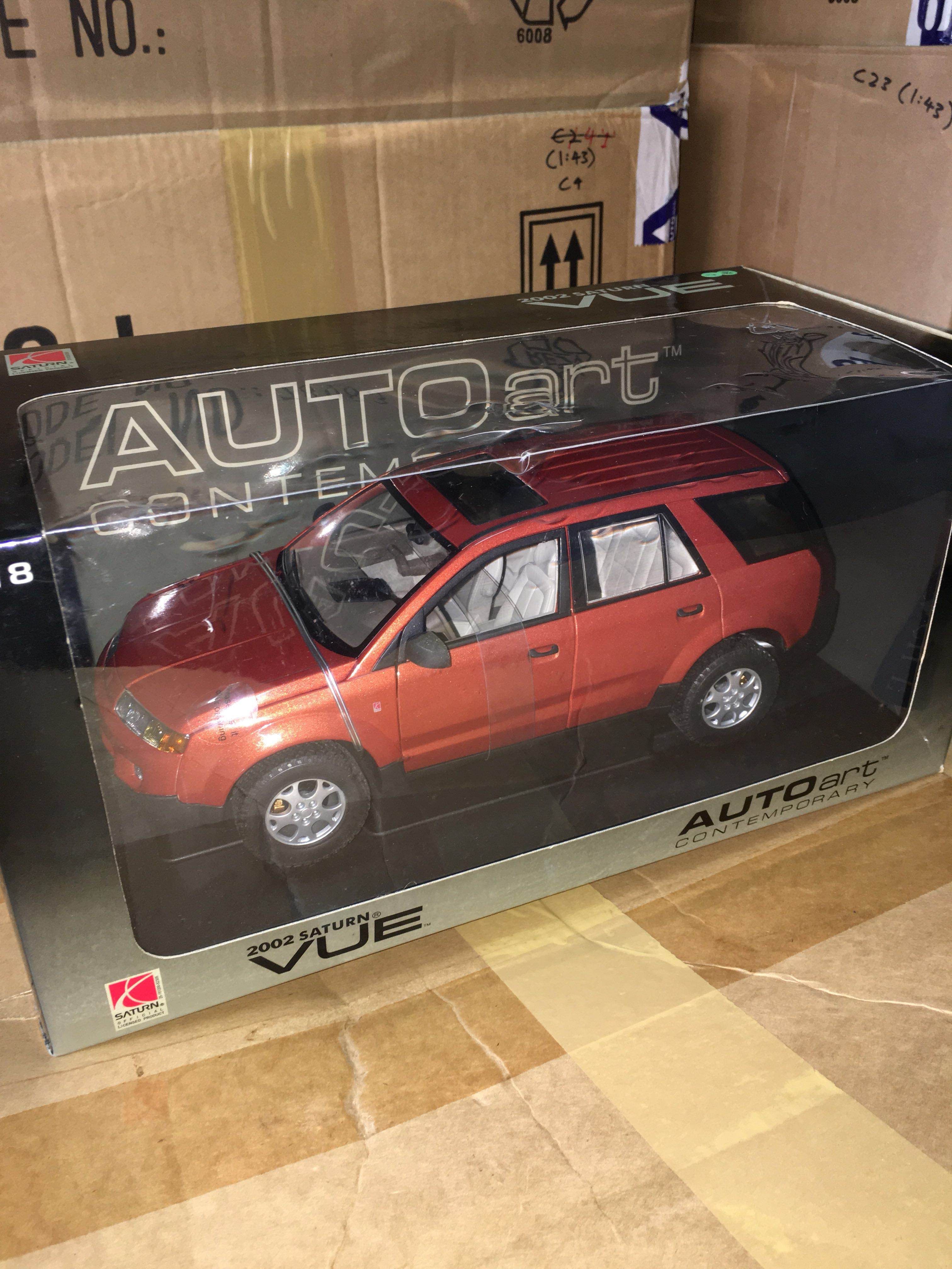 1 18 2002 Saturn Vue Autoart Everything Else On Carousell Commercial