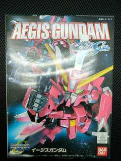 二手 中古 已砌 SD BB Aegis Gundam 神盾高達 gundam seed