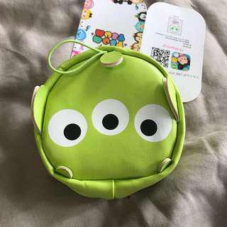 🌈New Tsum Tsum Toy Story Alien Pouch