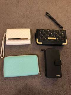Assortment of purses