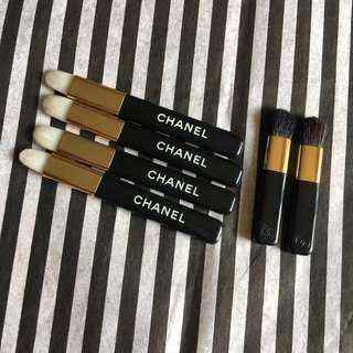 Chanel Mini brush bundle (eyes & lips)