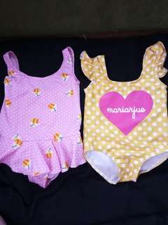 Take all swimsuit for baby girl 1 to 2 yrs old