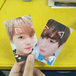 wanna one one the world jihoon fansupport trades/selling