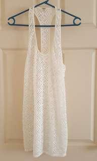 Roxy beach dress. Size S
