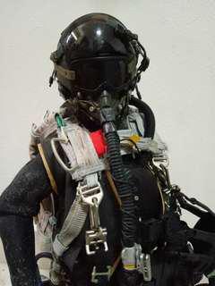 HALO jumper soldier