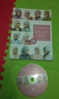 Buku Elegant Square Hijab + DVD
