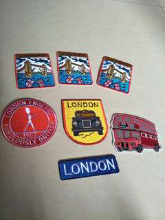 Iron On Patches London england