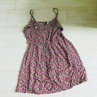 H&M one piece dress (flower) 碎花裙