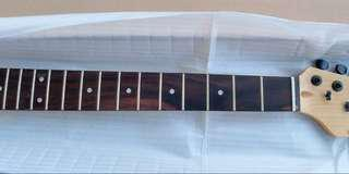 New electric guitar neck for replacement old or DIY 3d printed guitar body