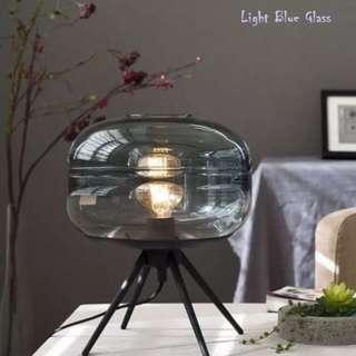 Nordic Style Cyber Glass Table Lamp, 北歐款時尚晶瑩玻璃枱燈