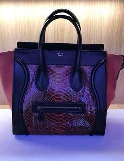 d4ce03ea36f Celine Mini Luggage, Luxury, Bags   Wallets, Handbags on Carousell