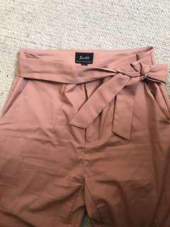 Bardot blush pink pants