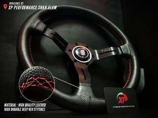 Steering Sport Nardi Torino Leather Grip 3 Curve Spoke 14 inch