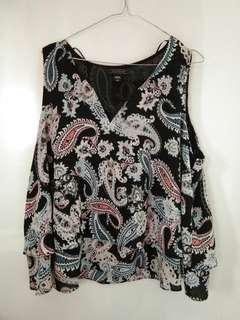 Metaphor Tank-Top Blouse Perfect Condition