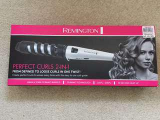 Remington Perfect Curls 2-in-1