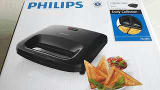 Philips Daily Sandwich Maker (Black)