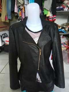 Jaket kulit import/jaket kulit wanita