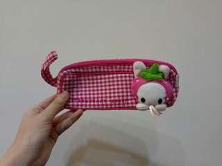 🚚 草莓兔兔筆袋#十月半價特賣