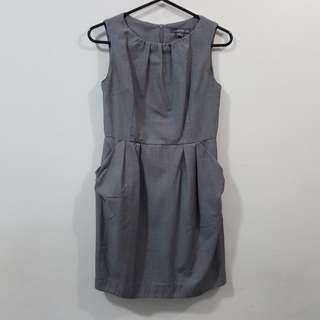 TwentyOne Gray Corporate Dress