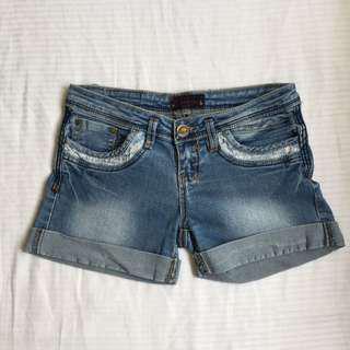 Hot Kiss Maong Shorts