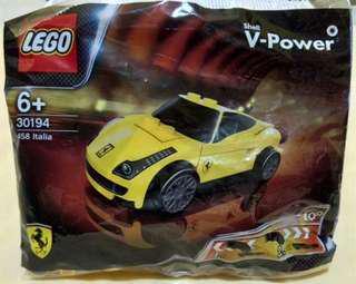 Lego Ferarri 458 italia Shell not city marvel