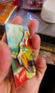 🚚 可口可樂女郎磁鐵
