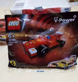 Lego Ferrari F1 150 Italia Shell not city marvel